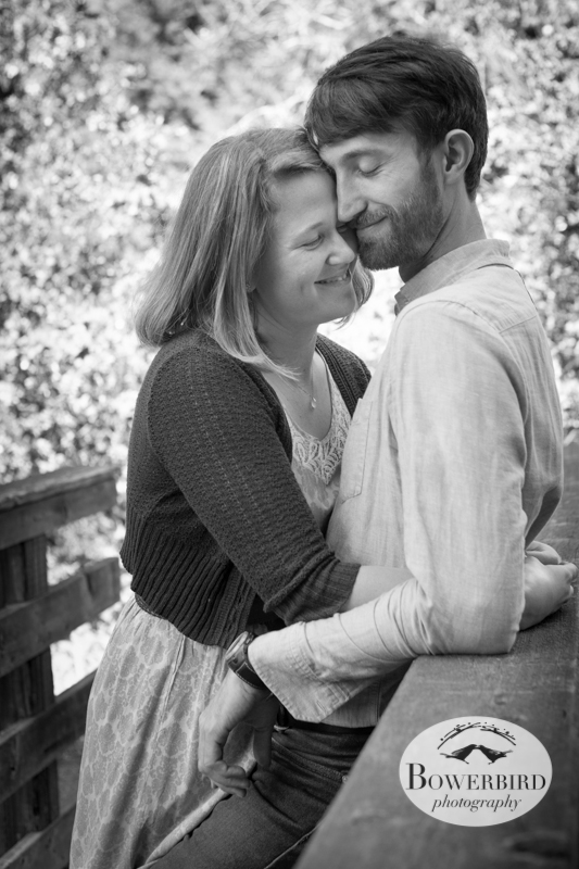 Lean on me! © Bowerbird Photography 2013; Engagement Photo in Tilden Park, Berkeley.