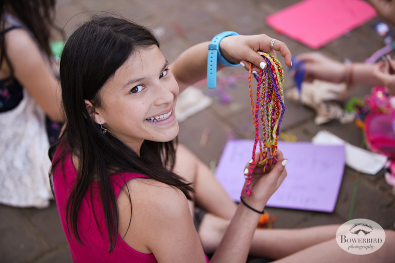 Selling friendship bracelets. Ya, totally bought one :) © Bowerbird Photography, Austin and SXSW 2013 Photo.