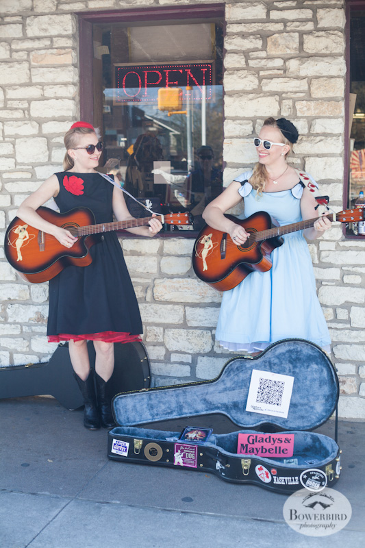 Gladys and Maybelle. © Bowerbird Photography, Austin and SXSW 2013 Photo.