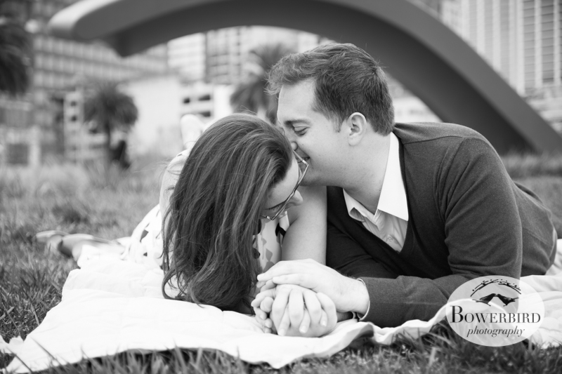 Yep. That's adorable! © Bowerbird Photography 2013; San Francisco Engagement Photo.