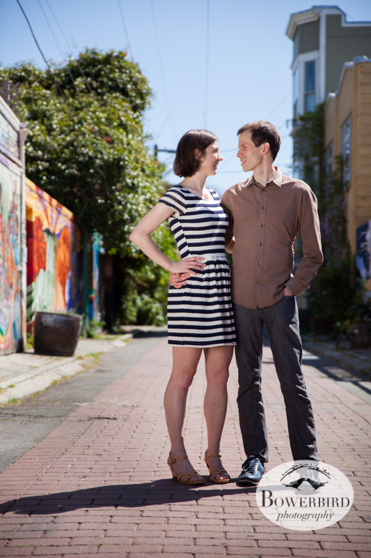 So glam! © Bowerbird Photography 2013; San Francisco Engagement Photo.