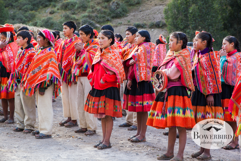 School day starting. © Bowerbird Photography 2013, Sacred Valley Health and Suny Brockport in Huilloc, Peru.