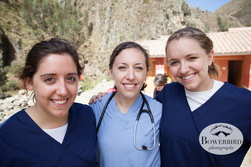 Wonderful volunteers! © Bowerbird Photography 2013, Sacred Valley Health and Suny Brockport in Huilloc, Peru.