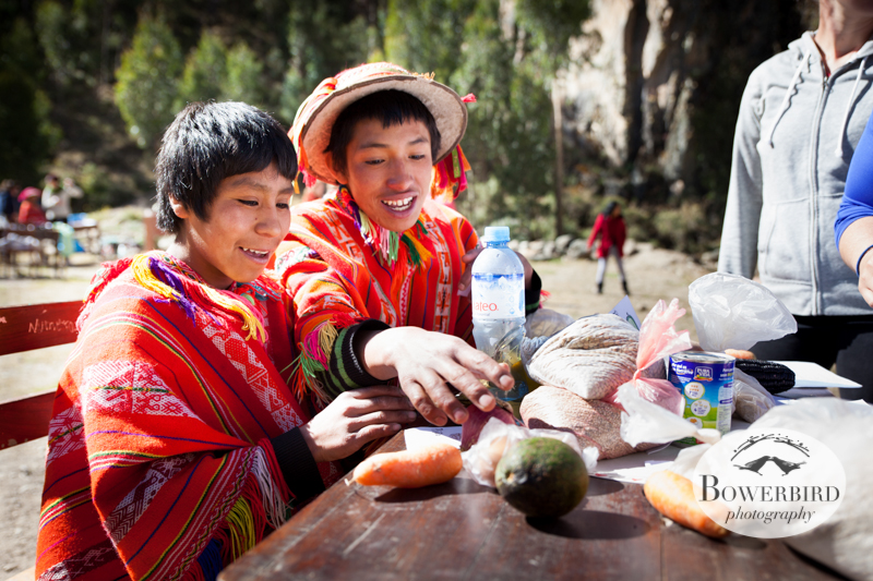 A nutrition class. © Bowerbird Photography 2013, Sacred Valley Health and Suny Brockport in Huilloc, Peru.