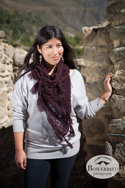 Awamaki Fashion Shoot. © Bowerbird Photography 2013, Ollantaytambo, Peru, Fashion Photo.