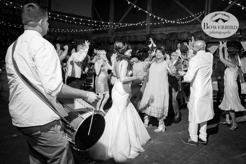 Dance party! © Bowerbird Photography 2013, Wedding at the San Francisco Winery SF on Treasure Island.