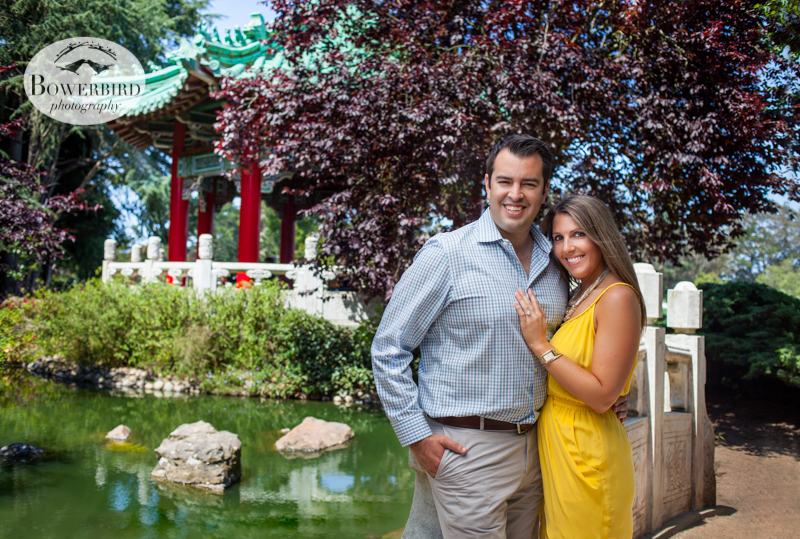 Perfection. © Bowerbird Photography 2013, San Francisco Engagement Photo at Stow Lake in Golden Gate Park.