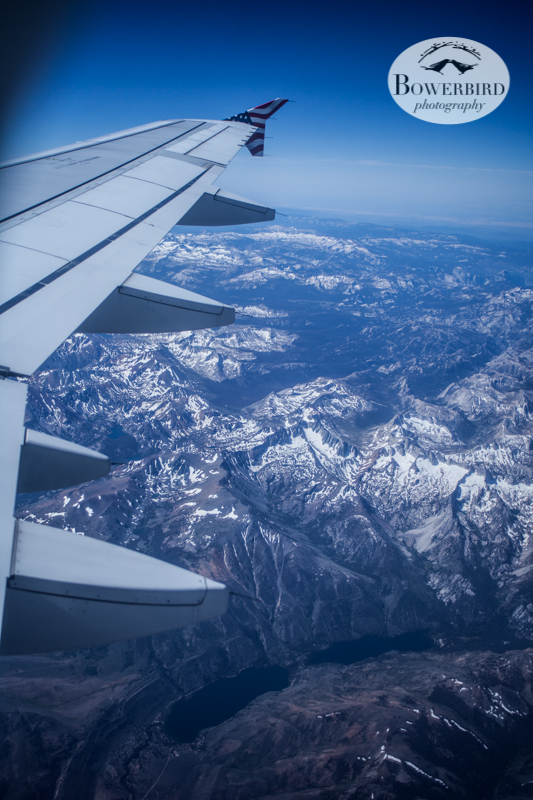 Flying from SF to Philly. © Bowerbird Photography 2013.