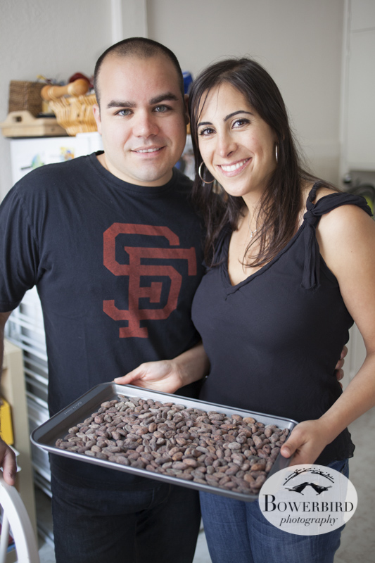 San Francisco Engagement Photos, Homemade Chocolate Date. © Bowerbird Photography 2013.