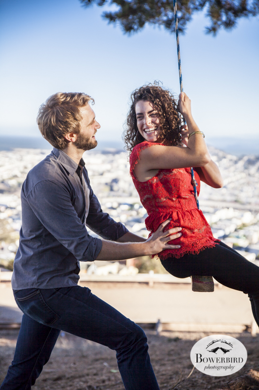 San Francisco Engagement Photography. © Bowerbird Photography 2013.