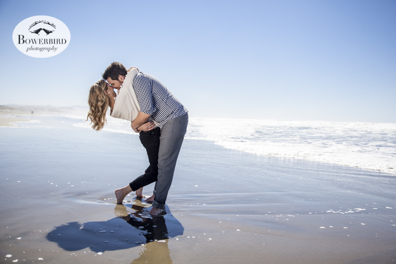 San Francisco Engagement Photos at Ocean Beach. © Bowerbird Photography 2013.