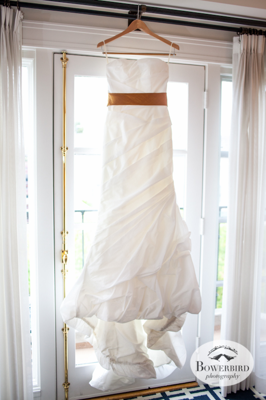 The bride's dress! Lucie Stern Community Center Wedding Photos. © Bowerbird Photography 2013