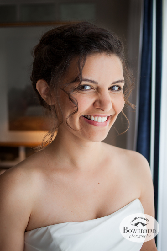 The beautiful bride. Lucie Stern Community Center Wedding Photos. © Bowerbird Photography 2013