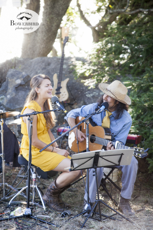Tiny Home at the secret concert on Mt. Tam. © Bowerbird Photography, 2013.