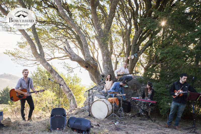 TaughtMe secret concert on Mt. Tam. © Bowerbird Photography, 2013.