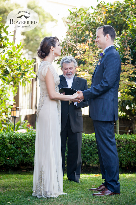 Wedding photography at the Swedenborgian Church in San Francisco. © Bowerbird Photography 2013.