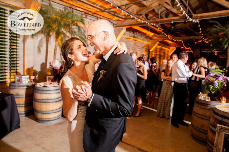 Wedding reception at Tank 18 in San Francisco. © Bowerbird Photography 2013.