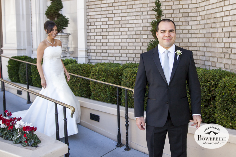 San Francisco Wedding Photography at the Intercontinental Mark Hopkins. © Bowerbird Photography.