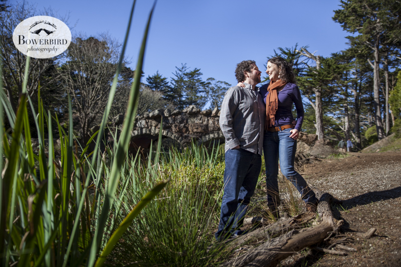 San Francisco Engagement Photo Session in Golden Gate Park.© Bowerbird Photography, 2013.