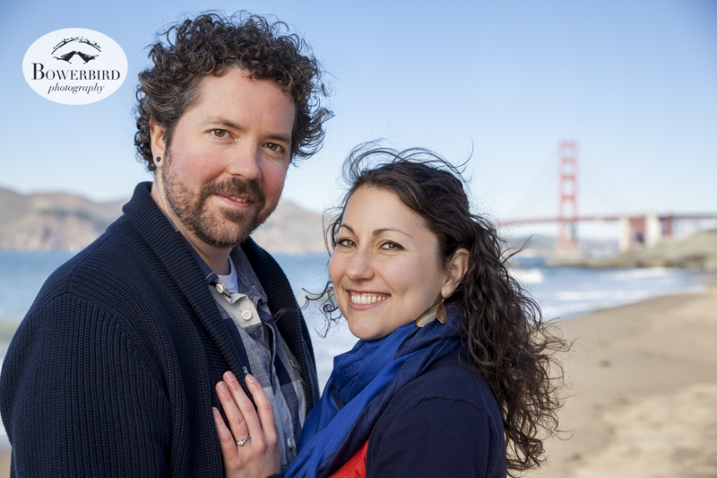 San Francisco Engagement Photo Session at Golden Gate Park. © Bowerbird Photography, 2013.