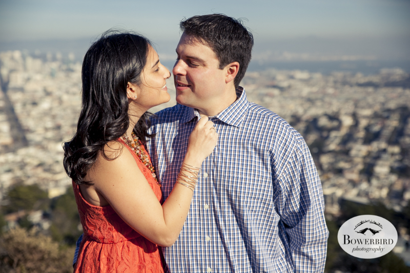 Engagement Photo Session at Twin Peaks. © Bowerbird Photography, 2013.