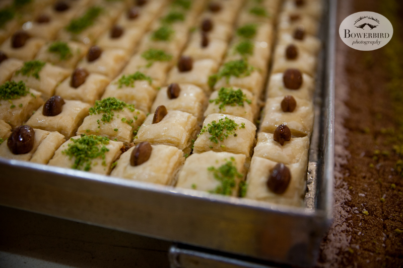 Baklava in Israel. © Bowerbird Photography, 2014.