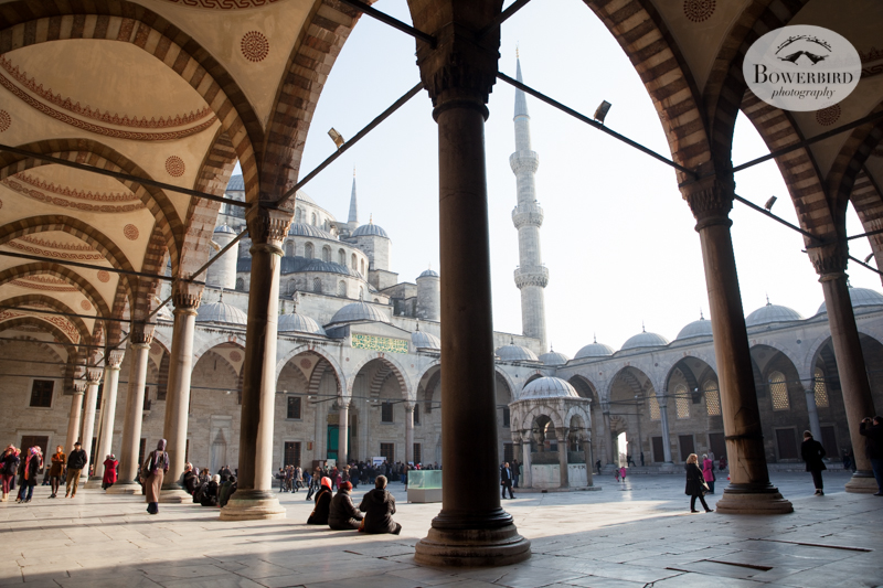 Blue Mosque, Istanbul, Turkey. © Bowerbird Photography, 2014