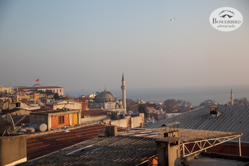 View from our apartment, Istanbul, Turkey. © Bowerbird Photography, 2014
