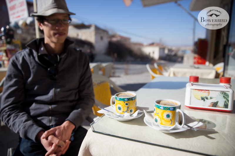 Coffee break! Cappadocia, Turkey. © Bowerbird Photography, 2014