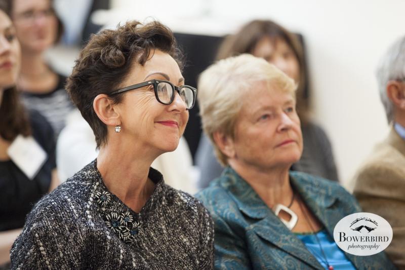 Jane Wurwand and Dr. Gro Harlem Brundtland. © Bowerbird Photography, 2014