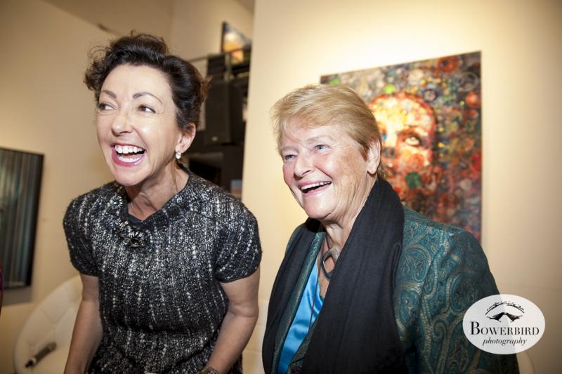 Jane Wurwand and Dr. Gro Harlem Brundtland.© Bowerbird Photography, 2014