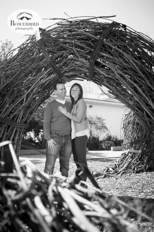 San Francisco Engagement Photo Session at USF. © Bowerbird Photography, 2014
