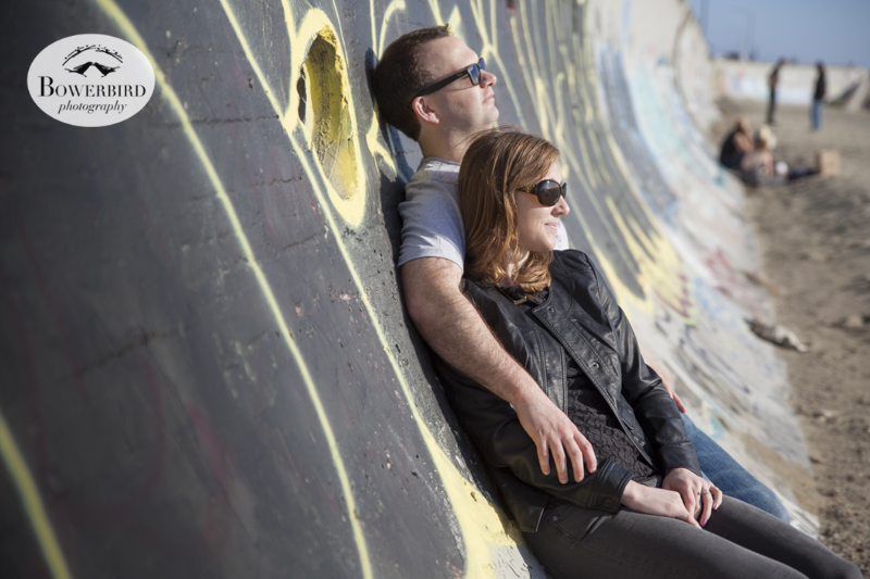 San Francisco Engagement Photo Session at Ocean Beach. © Bowerbird Photography, 2014