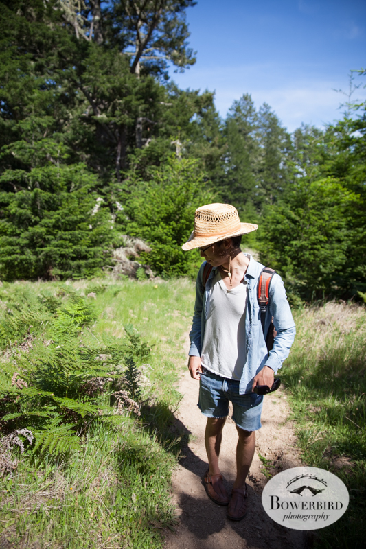 Hiking in Point Reyes National Seashore. © Bowerbird Photography, 2014