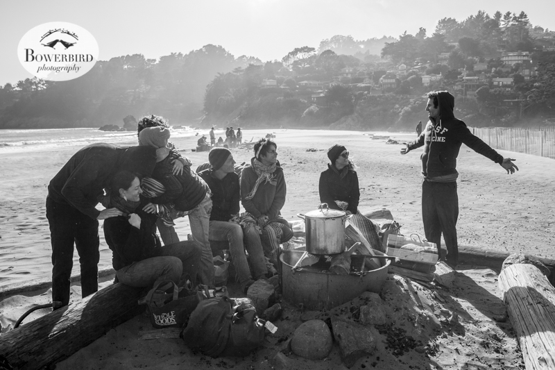 Muir Beach Birthday Bonfire. © Bowerbird Photography 2014