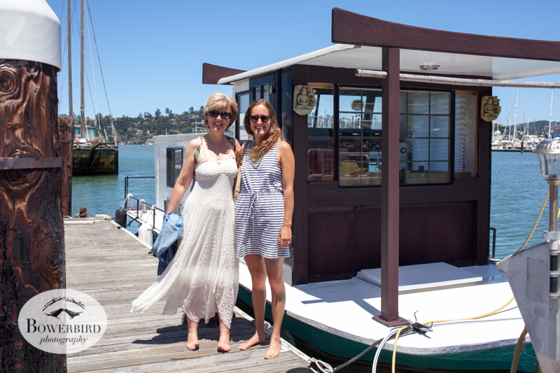 Sausalito with our dear friend Jane.  © Bowerbird Photography 2014