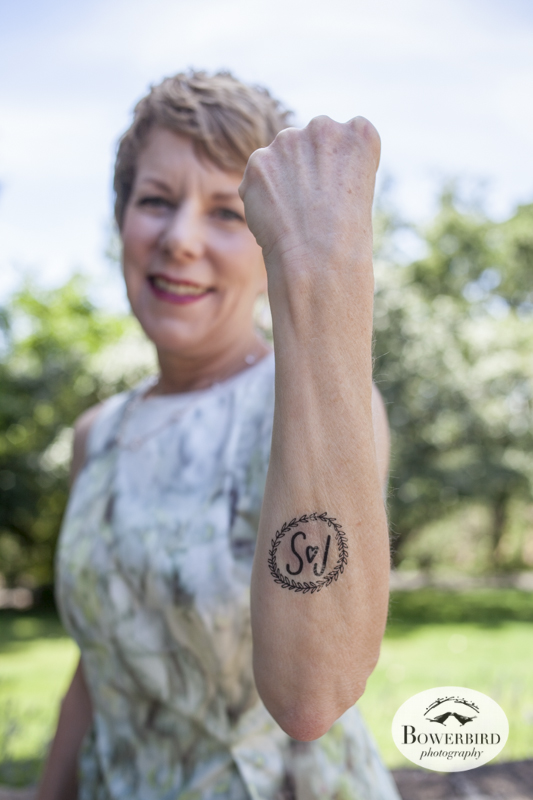 Mom got a tattoo! (Kunde Family Estate Wedding Photography in Kenwood. © Bowerbird Photography 2014)