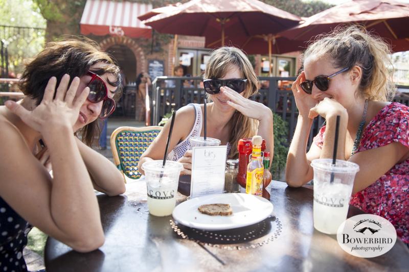 Pa-pa-pa-parazzi! Alcove Cafe in LA.© Bowerbird Photography 2014