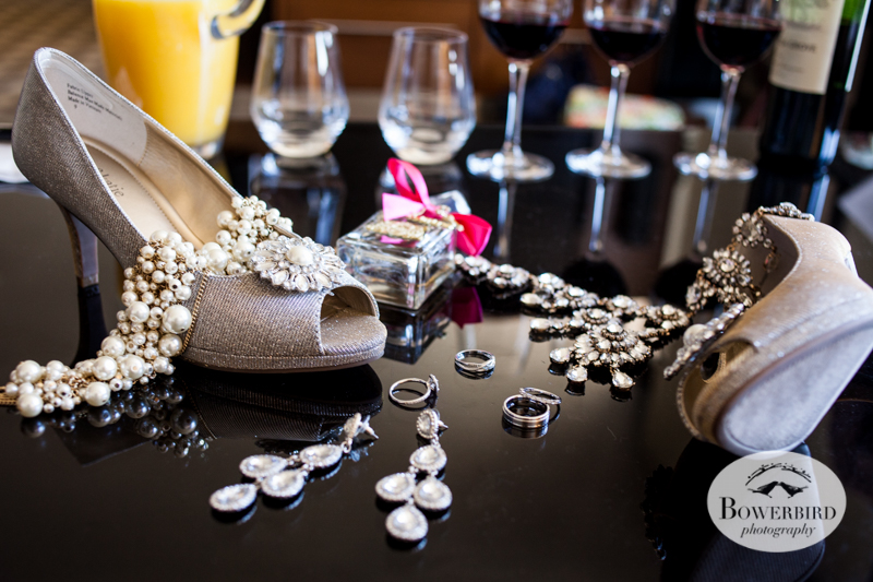 The bride's shoes and bling! Westin St. Francis © 2014 Bowerbird Photography.jpg