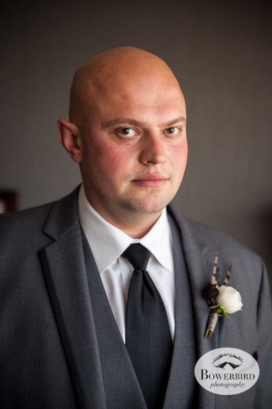 Westin St. Francis. Portrait of groom. © Bowerbird Photography 2014
