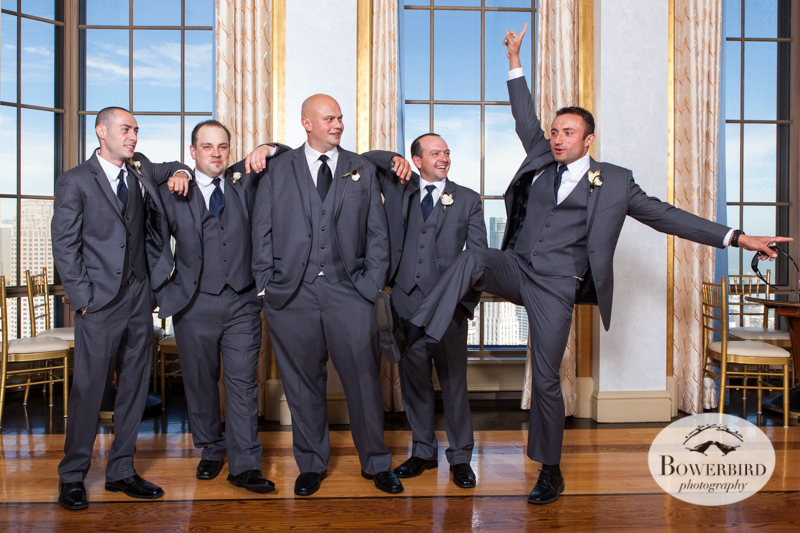Groomsmen. Westin St. Francis Hotel SF Wedding © 2014 Bowerbird Photography