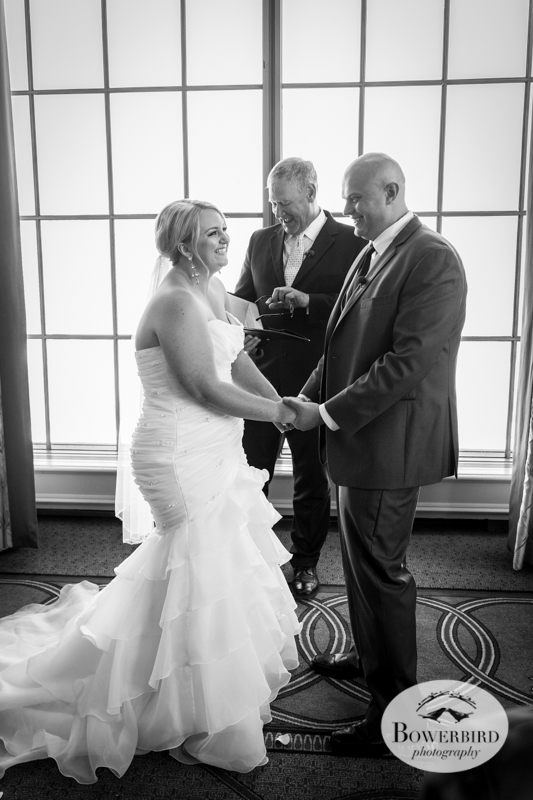 Westin St. Francis wedding ceremony on Imperial Floor. © 2014 Bowerbird Photography.jpg