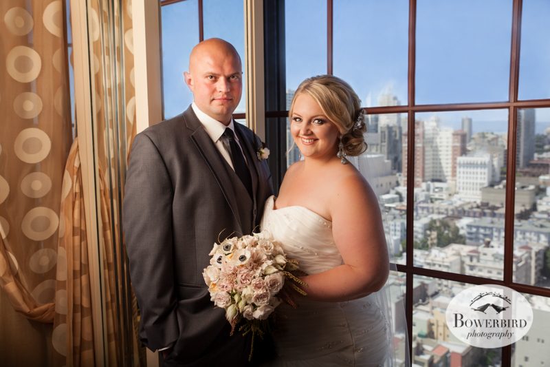 Couple's photos. Westin St. Francis © 2014 Bowerbird Photography