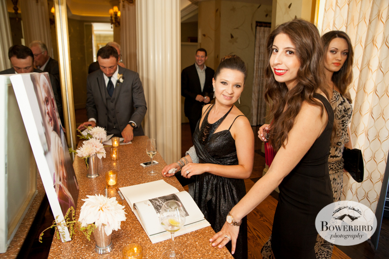 Signing the guestbook. © Bowerbird Photography 2014