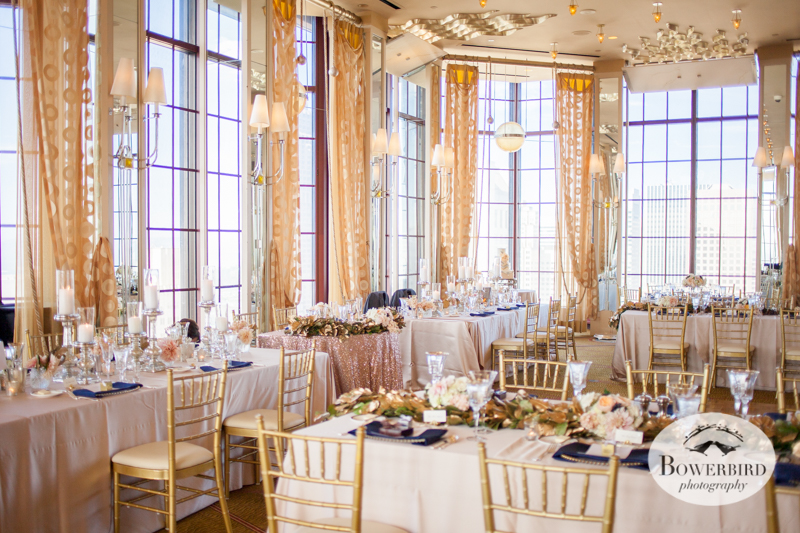Wedding Reception at Alexandra's Room at Westin St. Francis Hotel © Bowerbird Photography 2014