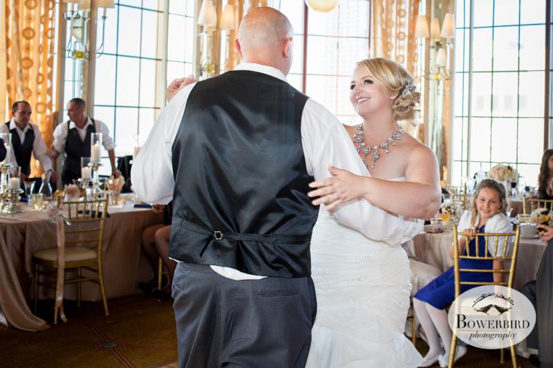 First Dance. Westin St. Francis Wedding. © Bowerbird Photography 2014© Bowerbird Photography 2014