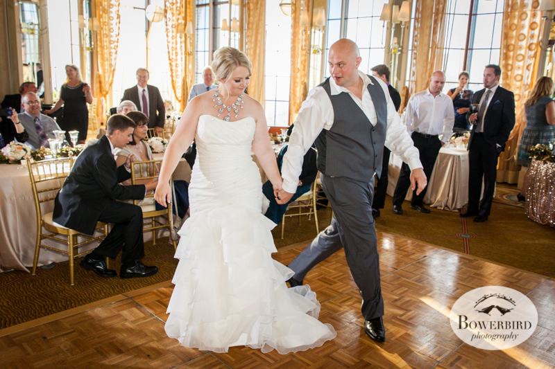 First Dance. Westin St. Francis Wedding. © Bowerbird Photography 2014