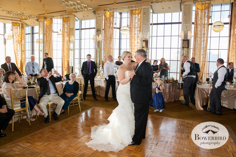 Lisa dancing with her dad. So sweet! © Bowerbird Photography 2014