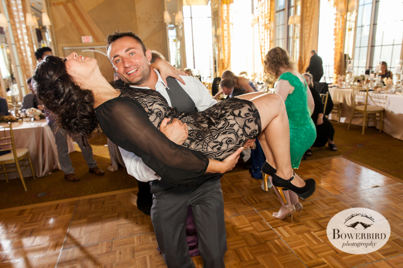 Guests on the dance floor! Westin St. Francis. © Bowerbird Photography 2014