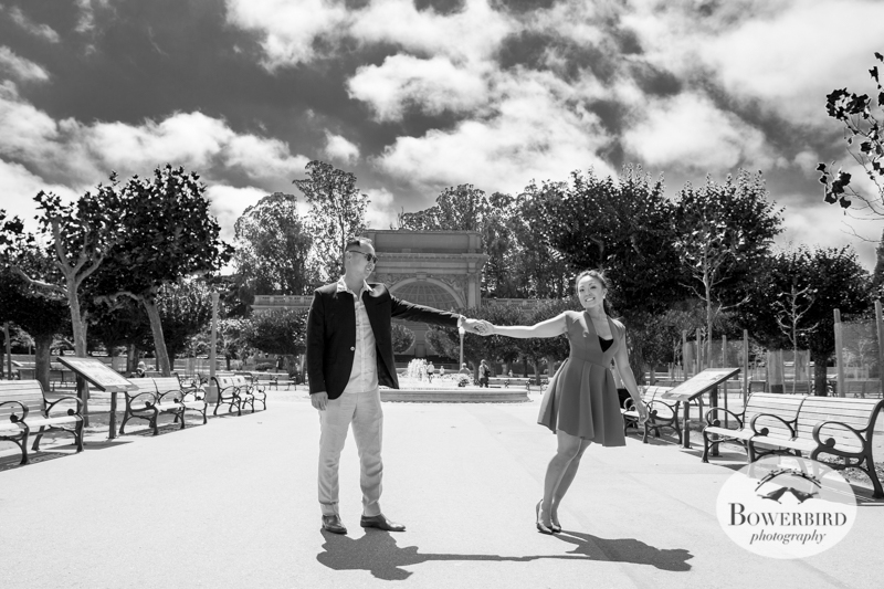San Francisco Engagement Photo Session in Golden Gate Park. © Bowerbird Photography 2014